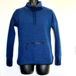 HP💘CHAMPION⚡️Dark Blue Turtleneck Sweatshirt_S